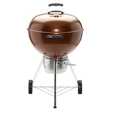 Weber Original Kettle Premium 22 in. Charcoal Grill in Copper 14402001