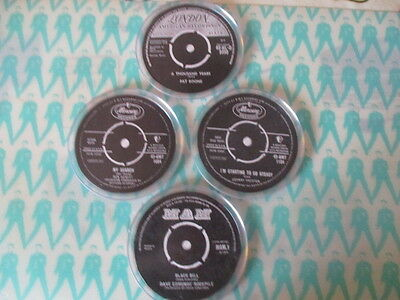 Set of 4 Record Label Coasters