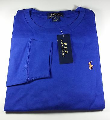 New Genuine Polo Ralph Lauren Cotton Jersey Long Sleeve T-Shirt 12 to 14 Yr Boys