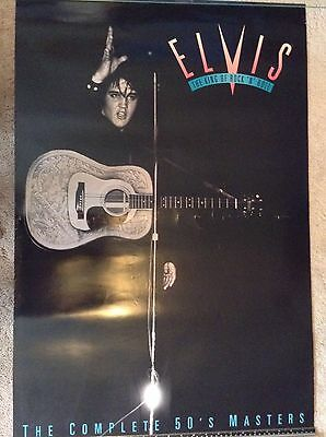 Elvis The Complete 50's Masters Collection Original Promo Poster - Mint Cond