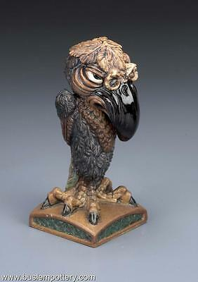 Burslem Pottery Grotesque Bird The Stenographer Inspired By Martin Brothers