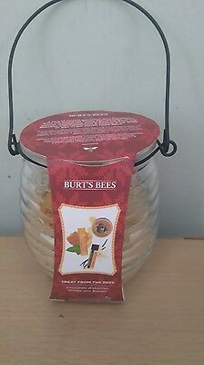 Burts Bees gift from the Bees 4 piece gift set Honeypot, New.