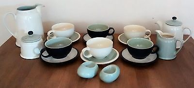 Denby Energy Tableware Teapot Cups & Saucers Jugs Sugar Bowl Egg Cups
