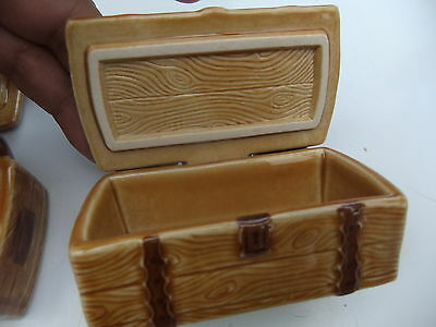 Wade Two Treasure Chest Trinket Boxes