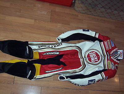 Scott One Piece  Leathers Lucky Strike  Rgv500 Edition   New    *eu 54 Uk 44