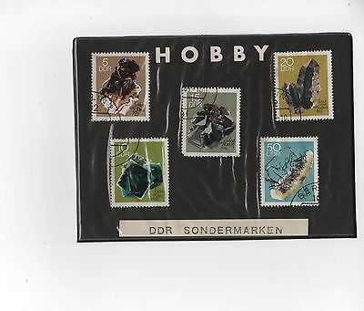 DDR Briefmarken Serie 5 Stk. Lot XVI