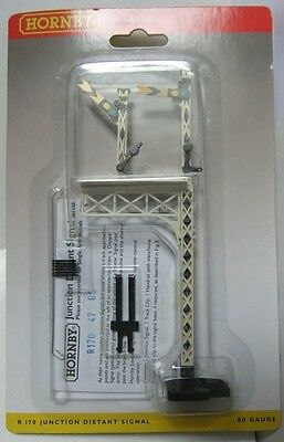 HORNBY RAILWAYS R170 Lattice Post Distant Junction Signal (in pack)