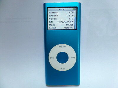 Apple iPod Nano 2 Generation 4GB / Faulty menu button