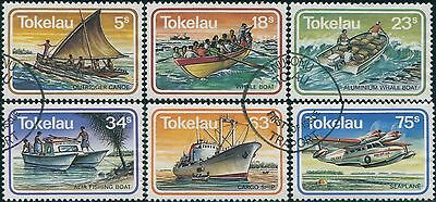 Tokelau 1983 SG91-96 Transport set FU