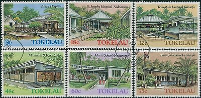 Tokelau 1986 SG130-135 Architecture part 2 set FU