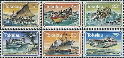 Tokelau 1983 SG91-96 Transport set MNH