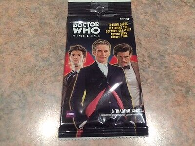 "L@@k Topps Doctor Who 2016 "" Timeless "" Factory Sealed Packet"