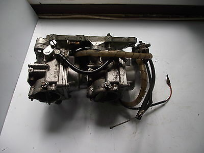 Suzuki outboard motor carburettors/manifold/choke assembly 65 HP spares/repairs.