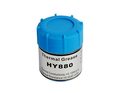 Halnziye HY880 10g Can Ultra High Nano-Carbon Thermal Grease Paste (5.15 W/m-k)
