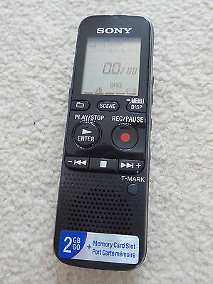 Sony Icd-Px312 Digital Voice Recorder - Flash 2Gb Mp3 - Black Rrp £99 5* Amazon