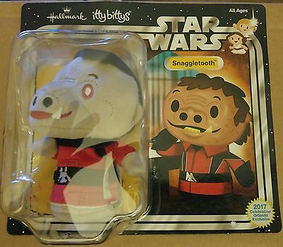 Star Wars Celebration 2017 Red Snaggletooth Itty Bittys Show Exclusive