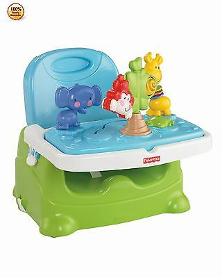 Fisher Price Discover n Grow Busy Newborn Baby Infant Booster Chair Feeding Seat