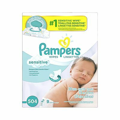 Pampers Baby Wipes Complete Clean Scented 10x Pop Top
