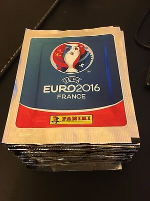 Panini Euro 2016 Stickers Sealed Packets x57