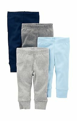 Simple Joys by Carter's Baby Boys' 4-Pack Pant Blue/Grey 0-3 Months