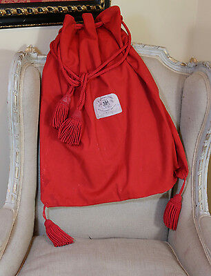 Antique Parliamentary Ceremonial Robe Bag Ede & Ravenscroft Lord Kindersley
