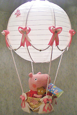 PEPPA PIG in hot Air Balloon Lamp-light Shade for Baby Nursery