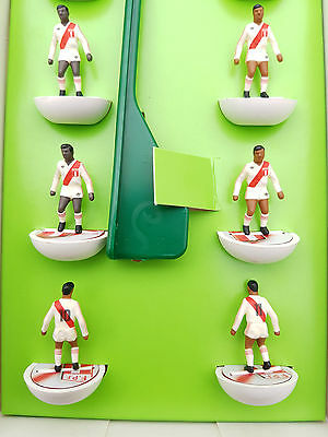 Subbuteo PERU team on Top Spin Bases - amazing detail