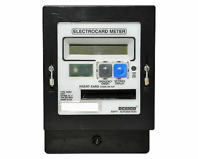 Ampy Cardmeter Prepayment Electric Meter/with Cards