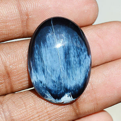 29 Cts Natural Chatoyant Pietersite Gemstone Oval Cabochon 29x21x6 MM R08435