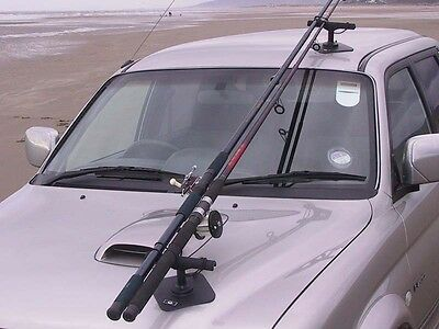 Fishing rod holder / carrier for your car, VAC-RAC Combi