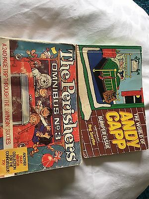 The Perishers No3 & The World Of Andy Capp Paperbacks