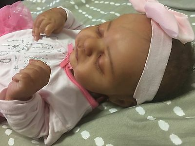 Limited Edition! Americus By Laura Lee Eagles, Ethnic Reborn Baby Girl