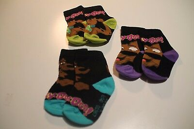 New Scooby Doo Baby Socks - Choose Your Colour