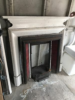Victorian Fireplace, Surround and mantelpiece