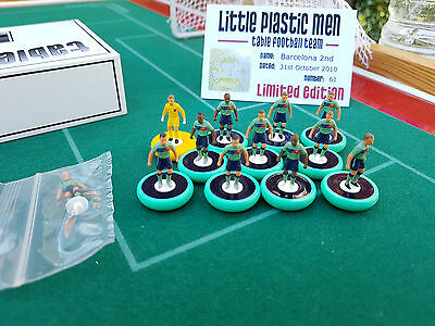 Subbuteo 2k4 BARCELONA (2nd) team on iBase Bases - By LPM