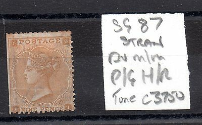 GB QV 9d SG87 Hinged Mint spacefiller JN48
