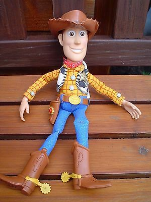 """Disney Pixar Toy Story **woody** 14-15"""" Talking Pull String Doll With Hat"""