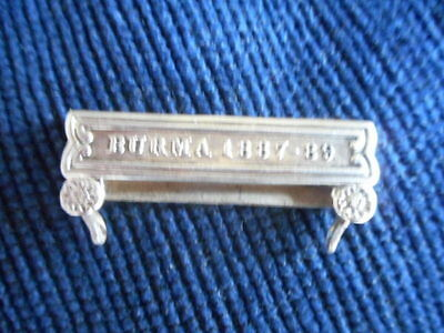 *  Clasp Burma 1887-89 For The India General Service Medal 1854 **reduced*******