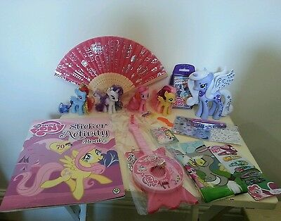 My Little Pony Bundle Toys WITH  ponies and accessories