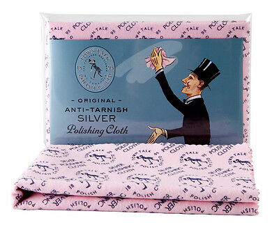 Town Talk Anti-Tarnish Silver Polishing Cloth for Silver Cleaning, 45cm x 30cm