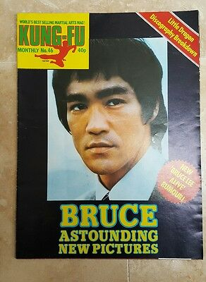 Bruce Lee Kung-fu Monthly