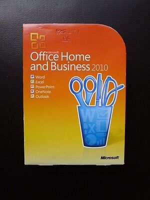 Microsoft Office 2010 Home and Business Word Excel Outlook T5D-00159 (GENUINE)