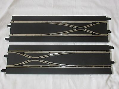2x Scalextric C7036 LANE CHANGER Straight Digital Sport Track Slot Car 1:32