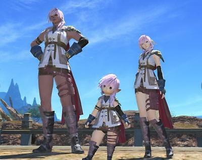 FINAL FANTASY XIV FFXIV FF14 item Character Lightning's Attire / Code PC PS4