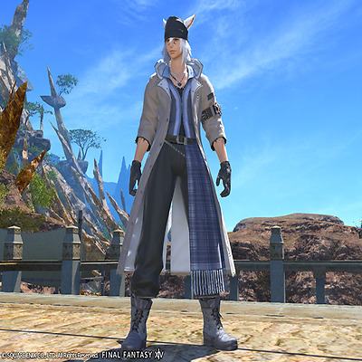 FINAL FANTASY XIV FFXIV FF14 item Character Snow's Attire Code All realm PC PS4
