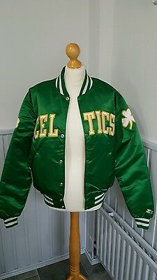 perfect condition boston celtics starter jacket