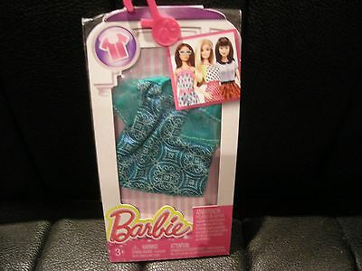 Mattel Barbie Clothes Outfits Accessories Pack Cfx73 Dhh41 Patterned Top Bnip