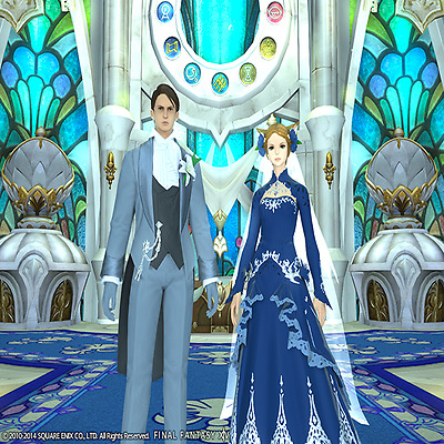 FINAL FANTASY XIV FFXIV FF14 Eternal Bond Promise of Devotion (Platinum)