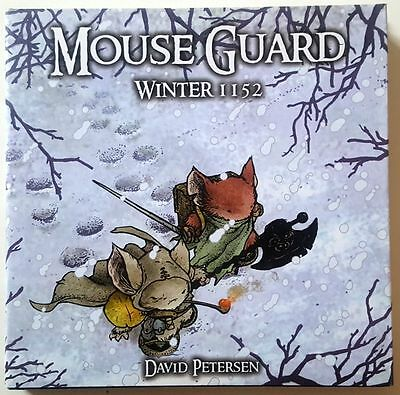Mouse Guard: Winter 1152 by D Petersen (First Print Titan Edition Hardback) VG