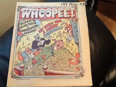 WHOOPEE . CHRISTMAS ISSUE 1975  - Paper comic In unread condition